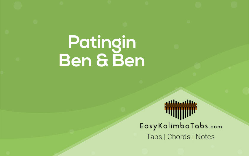 Patingin Kalimba Tabs and Chords