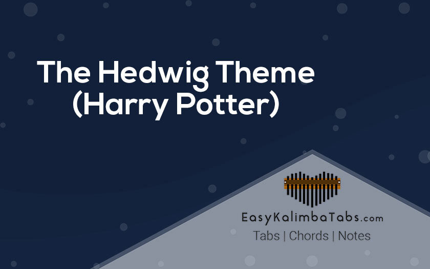 The Hedwig theme Kalimba Tabs and Chords