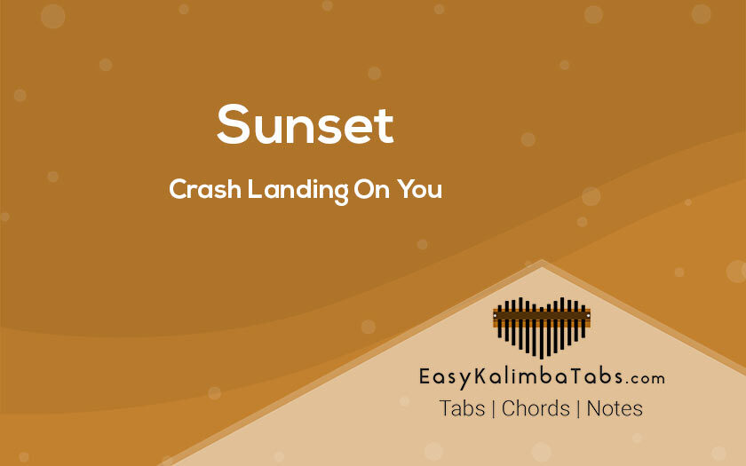 Sunset Kalimba Tabs and Chords