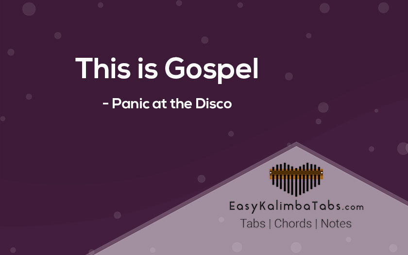 This is Gospel Kalimba Tabs and Chords