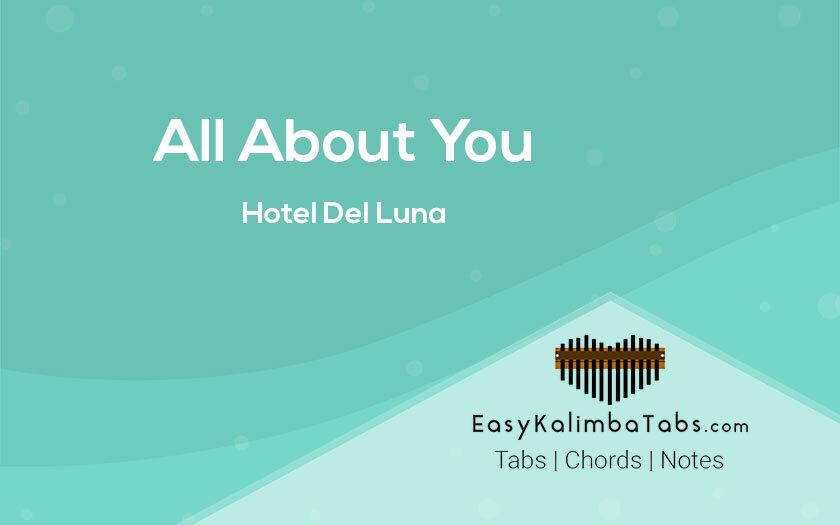 All About You Kalimba Tabs and Chords