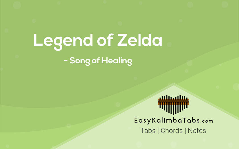Legend of Zelda Kalimba Tabs and Chords