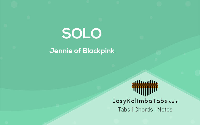 Solo Kalimba Tabs and Chords