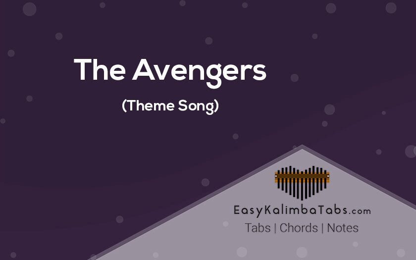 The Avengers Kalimba Tabs and Chords