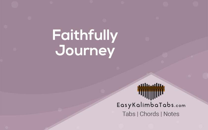 Faithfully Kalimba Tabs & Chords by Journey